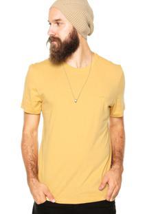 Camiseta Triton Brasil Bordado Amarela
