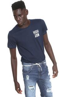 Camiseta Fiveblu Way Azul-Marinho