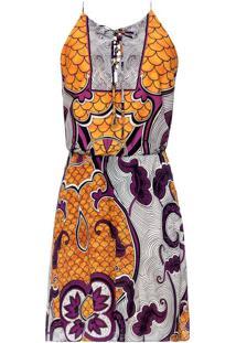 Vestido Tecido Crepe Span/Rayon Ghana - Lez A Lez