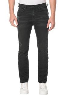 Calça Jeans Five Pocktes Slim Ckj 026 Slim - Preto - 42