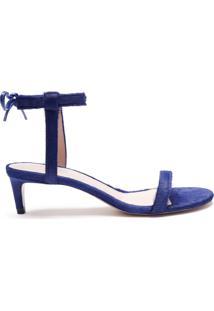 Sandália Special Italian Kitten Heel Blue | Schutz