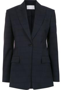 Boss Hugo Boss Blazer De Lã - Azul