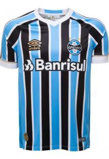 Camisa Umbro Grêmio Oficial 1 2018 Com Nº 10 (Game)