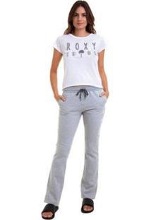 Calça De Moletom Roxy Eternally Yours Feminina - Feminino