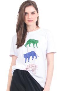 Camiseta Tri Cheetah 41Onze Branco - Tricae