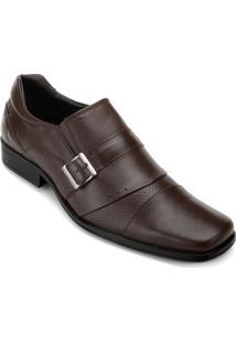 Sapato Parello Masculino Fivela - Masculino-Café