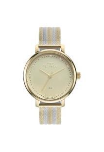 Relógio Technos Feminino Analógico Dourado 2035Msw1X