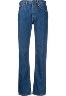 Acne Studios Calça Jeans Reta '1997 Trash' - Azul