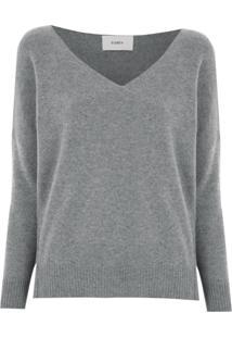 Egrey Blusa De Tricô De Lã - Cinza