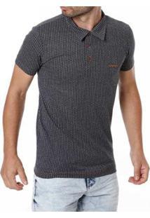 Camisa Polo Adulto Haskler Masculino - Masculino-Cinza