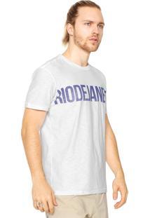 Camiseta Osklen Rio Branca