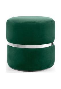 Puff Round Verde Domi Mobilia