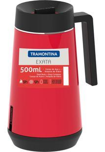 Bule Térmico Exata Com Infusor 500Ml Vermelho 61644056 Tramontina