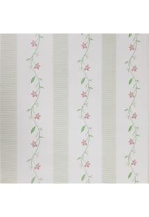 Kit 2 Rolos De Papel De Parede Fwb Lavável Floral Vermelho Com Verde - Tricae