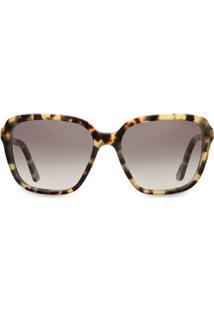 Prada Eyewear Óculos De Sol Com Lentes Em Degradê - Marrom