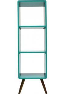 Estante Vertical Bery - Azul Turqueza - Tommy Design