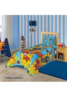 Lepper Jogo De Cama Patrulha Caninaâ® Solteiro Azul Claro & Vermelho 2P