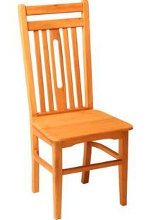 Cadeira Mineira De Madeira De Demolição Sem Braço
