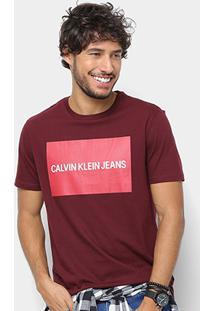 Camiseta Calvin Klein Estampa Logo Masculina - Masculino