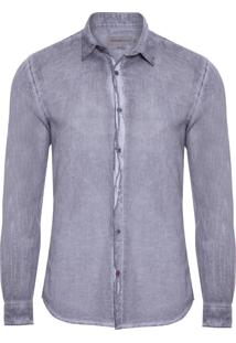 Camisa Masculina 78 - Cinza