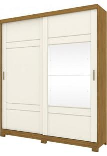 Guarda Roupa Henn Verg 02 Portas 03 Gavetas Deslizantes Nature/Off White