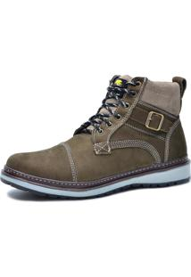Bota Worker Over Boots Couro Chumbo Urban