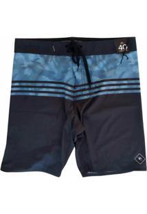 Bermuda Rip Curlágua Gabriel Medina Camuflado Ii 20 Boardshort - Masculino-Azul