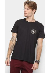 Camiseta Cavalera Estampa Reis Masculina - Masculino-Preto