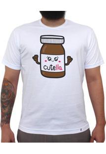 Cutella - Camiseta Clássica Masculina