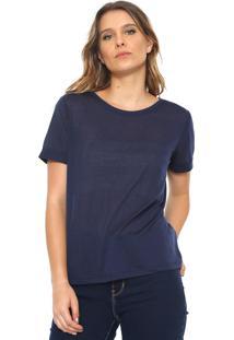 Camiseta Jdy Lisa Azul-Marinho