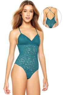 Body Hope Renda Verde