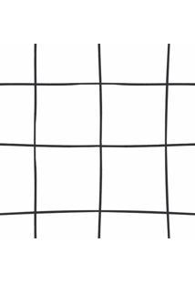 Papel De Parede Stickdecor Adesivo Grid Quadriculado 100Cm L X 300Cm A - Branco - Dafiti