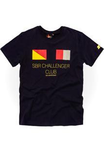 Camiseta Starter Collab Sbr Marinho