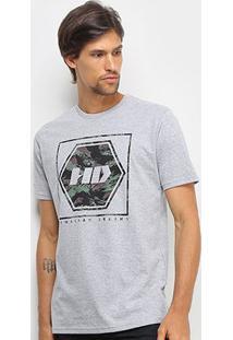 Camiseta Hd New Camo Masculina - Masculino
