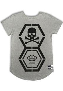 Camiseta Oversize Dna Diet - Masculino