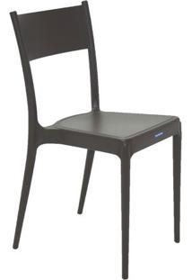 Cadeira Diana- Marrom Escuro- 81X49X41Cm- Tramontramontina