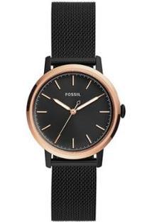 Relógio Fossil Neely Feminino - Feminino-Preto