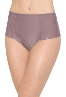 Calcinha Marcyn Hot Pant Recortes Lilás