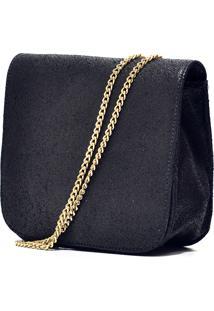 Bolsa Hendy Bag Couro Preta