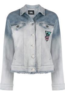 Karl Lagerfeld Jaqueta Jeans Karlifornia - Azul