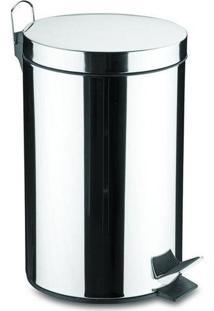 Lixeira Inox Com Pedal E Balde Removível 20L - 94538/120 - Tramontina - Tramontina
