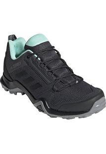 Tênis Adidas Terrex Ax3 Feminino - Feminino-Preto+Cinza