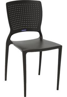Cadeira Tramontina Safira 92048/109 Marrom Se