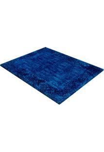 Tapete De Banho Em Poliéster Levitare Tranquilidade 70X50Cm Azul