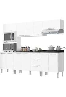 Cozinha Bianca Branco C/ Tampo Genialflex Móveis
