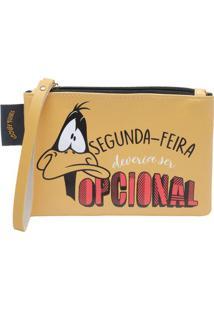 Carteira Looney Tunesâ®- Amarela & Preta- 12X17X2,5Cmurban