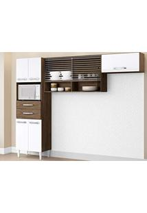 0ce8f5e4c29 ... Cozinha Compacta Michele 7 Pt Dakota E Branco