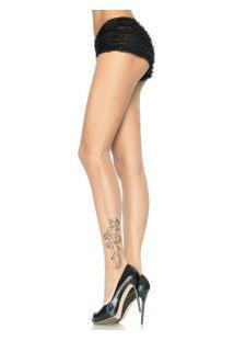 "Meia-Calça Tatuada Leg Avenue (7432) ""Tattoo Print Pantyhose"""
