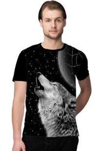 Camiseta Stompy Space Wolf Masculina - Masculino