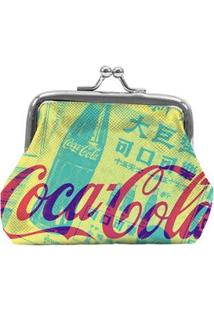 Porta-Moedas Urban Coca-Cola Newspaper - Amarelo